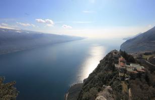 Monte Cas, la Gibilterra del Garda
